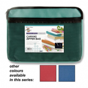 Premier Office A4 Canvas Zipper Bag - Bold